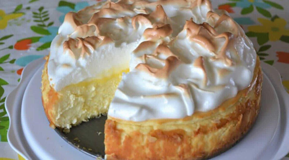 Recette de cheesecake à la meringue et au citron qui fond littéralement dans la bouche