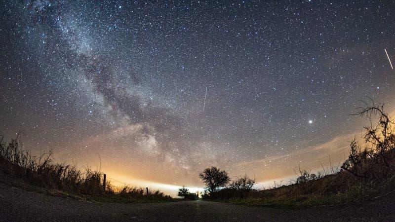 Une pluie d'étoiles filantes traversera  le ciel cette nuit