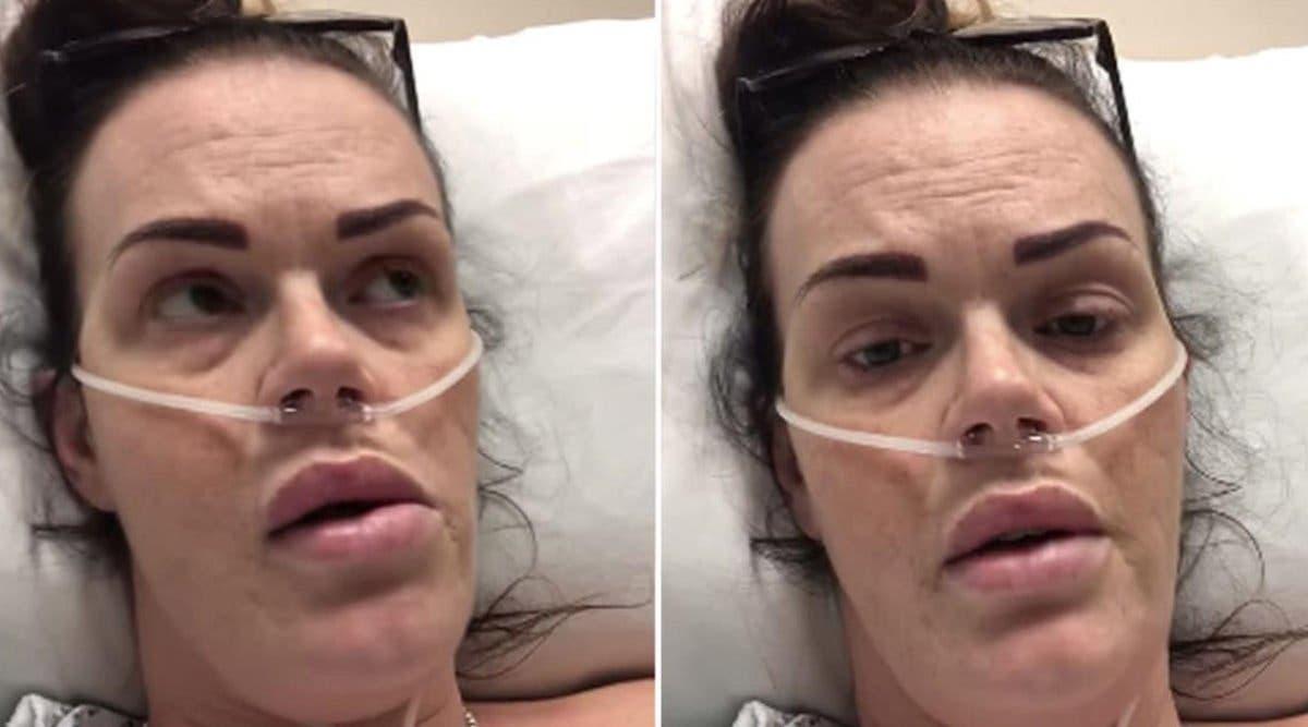 « Je veux rester en vie pour mon bébé » Une esthéticienne enceinte atteinte du coronavirus lutte pour guérir et sauver son bébé