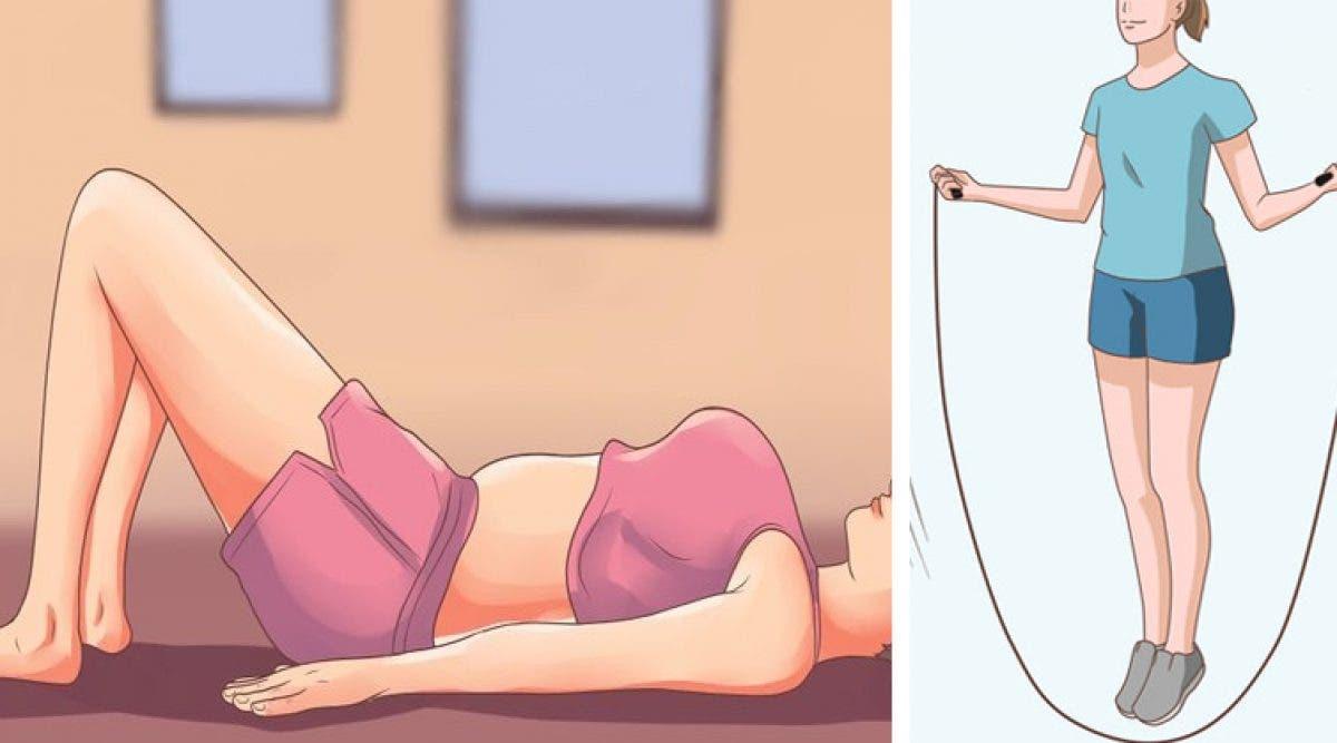 10 exercices plus efficaces que la course pour brûler les graisses