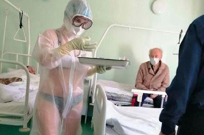 L'infirmière avait trop chaud: l'hôpital la sanctionne