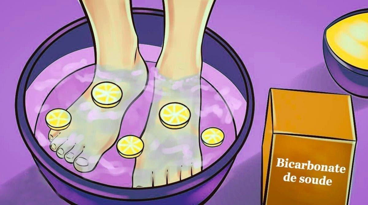 Ce bain de pieds au citron élimine toutes les toxines de votre corps pour être en bonne santé