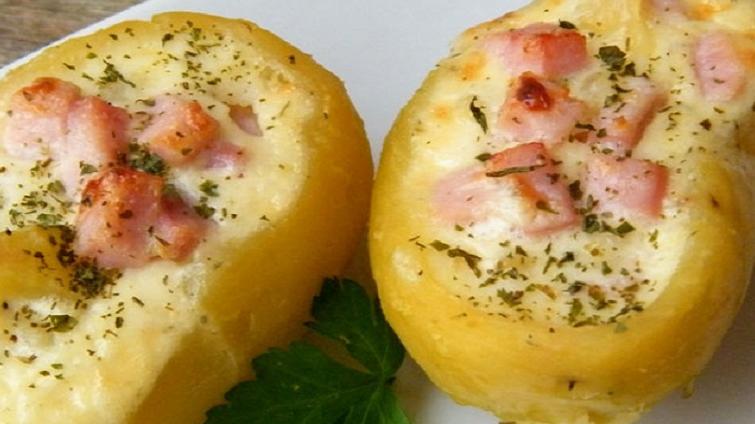 Pommes de Terre Farcies au Boursin et Jambon