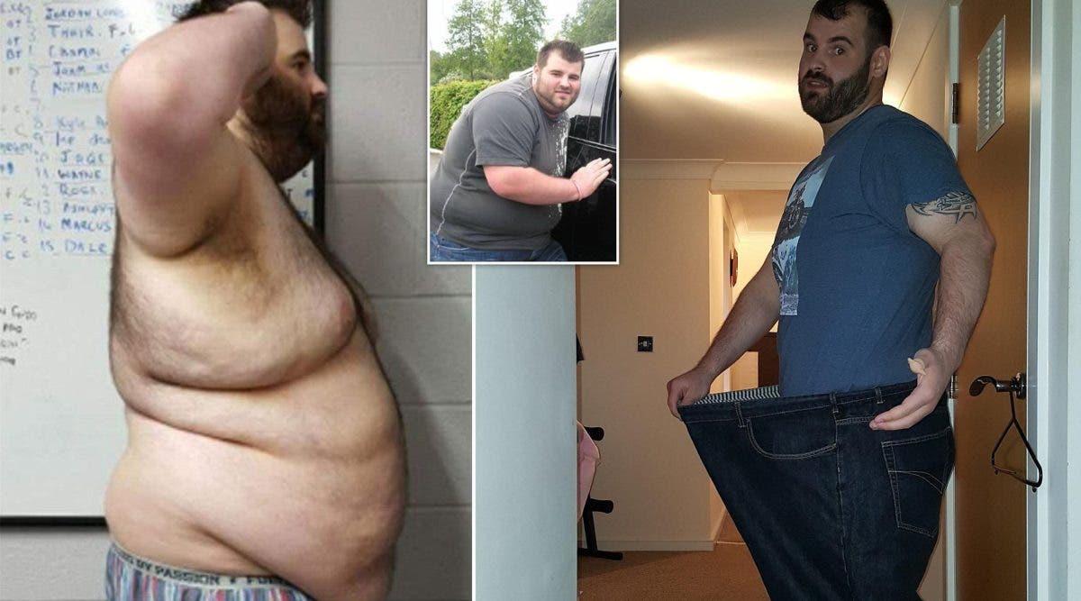 Trompé par sa petite amie, il l'a quitte et perd la moitié de son poids