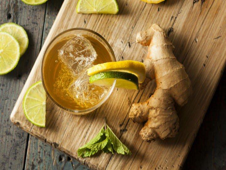 La recette de l'eau de gingembre : Pour brûler la graisse abdominale et soulager les douleurs articulaires