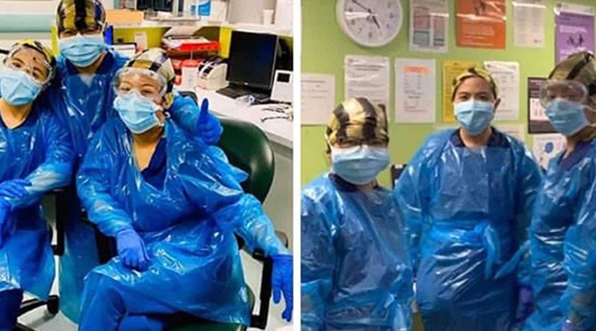 Forcées de porter des sacs poubelles en guise d'équipement de protection individuelle, des infirmières contractent le coronavirus