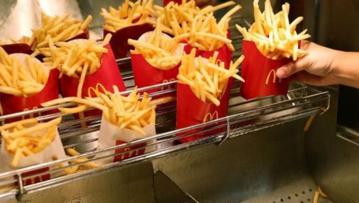 Les frites de Mc Donald's contiendraient des 'produits chimiques toxiques', selon The Sun