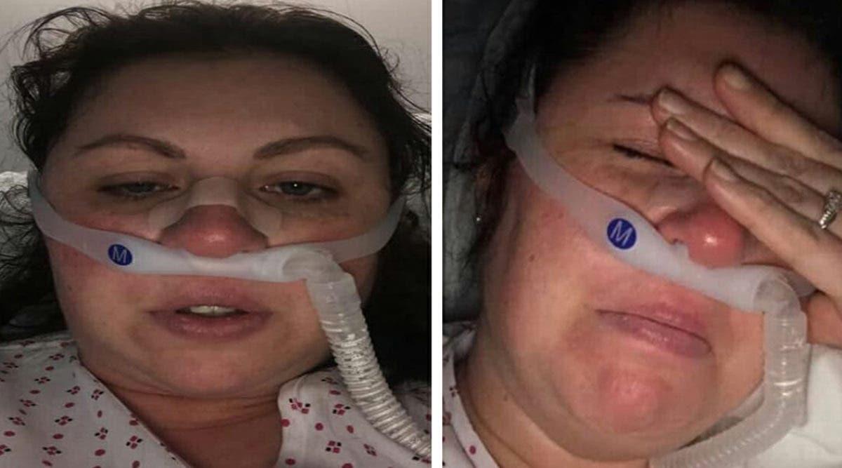 Une infirmière infectée par le coronavirus supplie les médecins de ne pas la laisser mourir pour qu'elle puisse revoir ses enfants