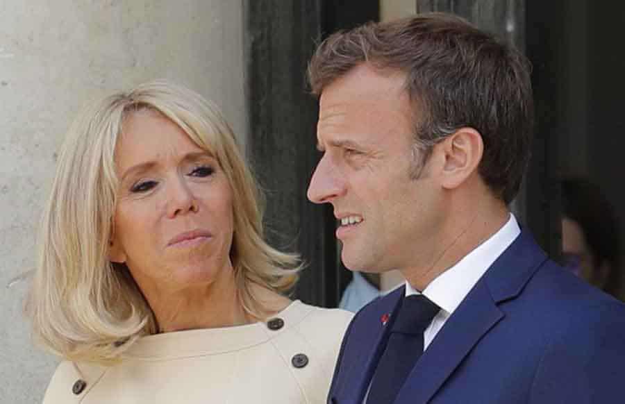 La famille Macron se fait rembourser leurs frais de bouche.