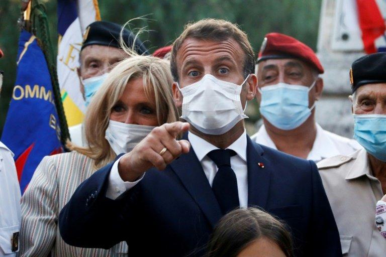 Face à la crise sanitaire Macron appelle les français à la vigilance , à l'unité  et à être prêt.