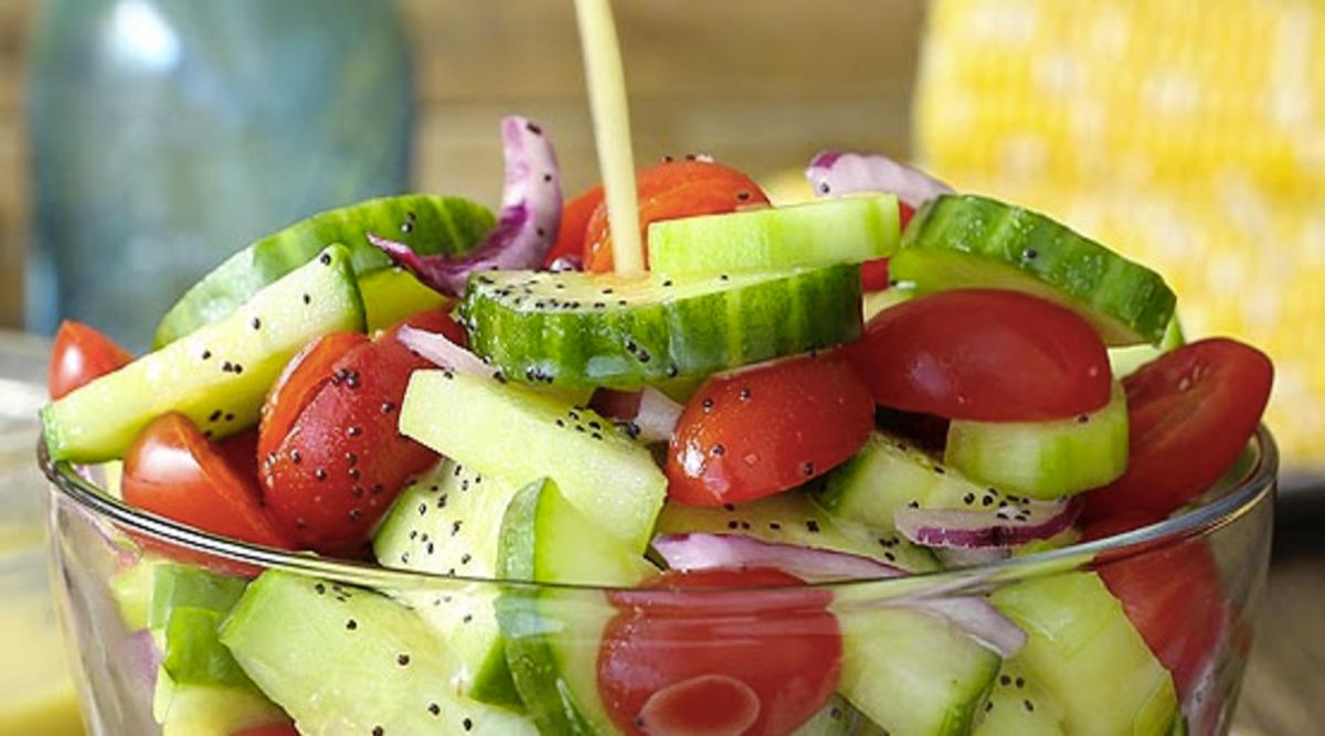 Ne consommez plus les concombres et les tomates ensemble