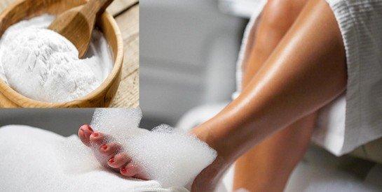 Le bicarbonate de soude pour prendre soin efficacement des pieds