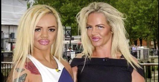 Une maman et sa fille ont dépensé plus de 86 000 euros en chirurgie plastique pour ressembler à leur modèle préféré
