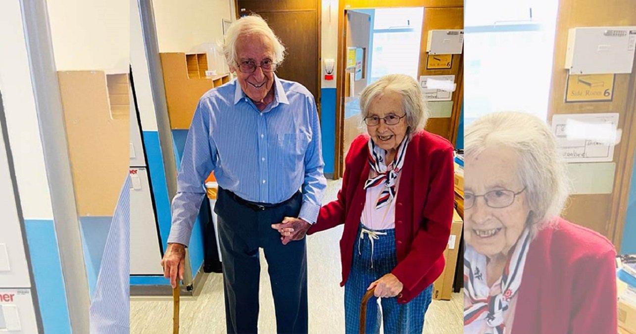 Grands-parents de 91 et 88 ans guérissent du COVID-19 ensemble et quittent l'hôpital main dans la main – il y a de l'espoir