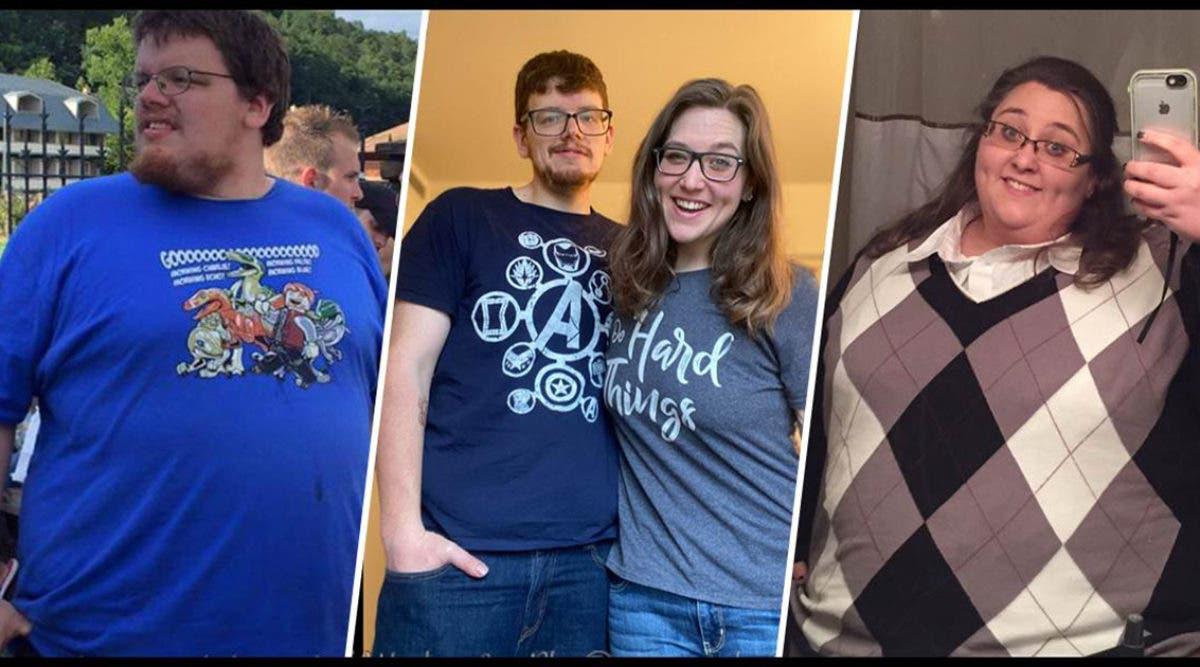 Un couple qui a perdu 238 Kg partage 3 astuces qui leur ont permis de perdre du poids