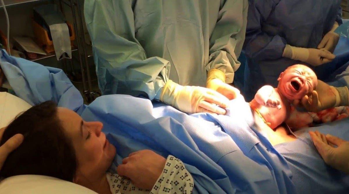 Une femme enceinte atteinte du coronavirus meurt et laisse son bébé derrière elle