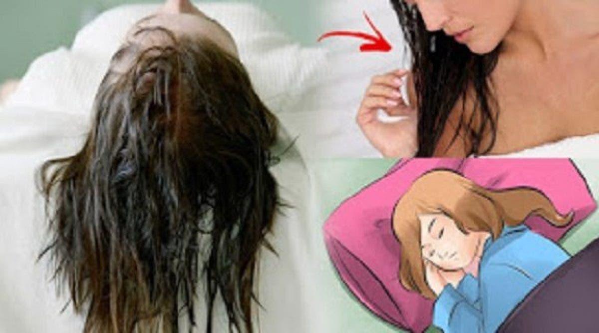 Mesdames, voici pourquoi vous devez absolument arrêter de dormir avec les cheveux mouillés !