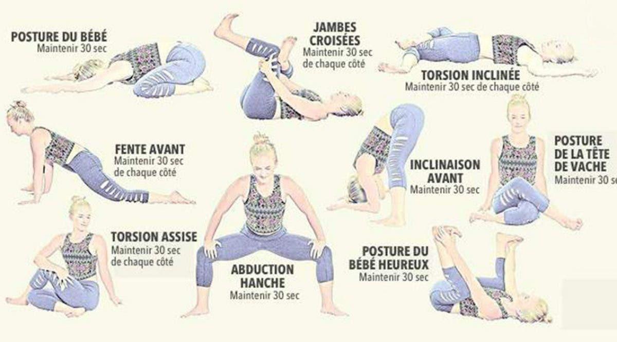 8 étirements efficaces pour soulager les douleurs du bas du dos et des hanches