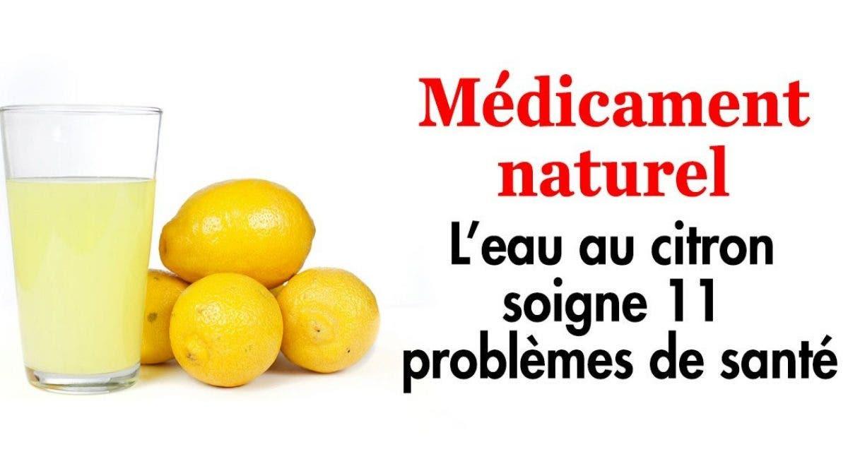 Buvez de l'eau au citron chaque matin pour soigner 11 problèmes de santé