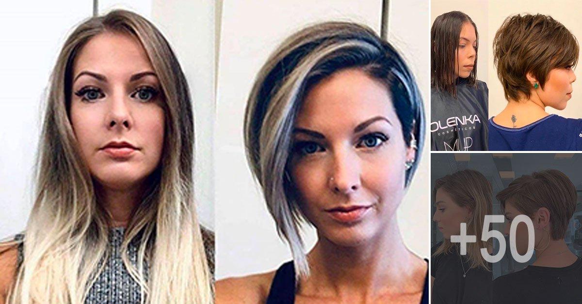 +50 Best Transformations cheveux les plus demandés chez le coiffeur en 2020